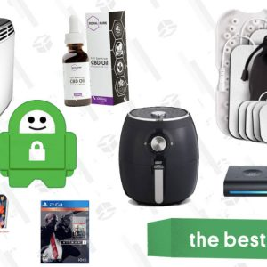 Best Air Fryer – Wednesday's Best Deals: CBD Exclusive Sale, Hitman Gold 2, Dash Air Fryer, Aukey Power Bank, Black + Decker Toaster, and More