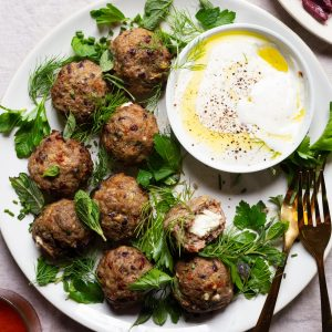 Best Air Fryer – These Feta-Stuffed Lamb Meatballs Might Make You Buy an Air Fryer