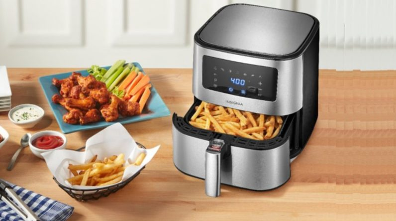 Best Air Fryer – Insignia Air Fryers as Low as $39.99 Shipped on Best Buy (Regularly $100)