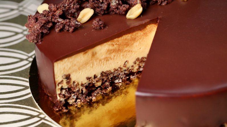 Rice Cooker Recipes Peanut Butter Mousse Crunch Cake Recipe