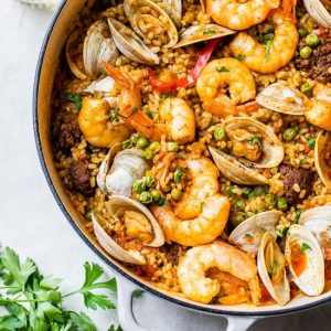 Rice Cooker Recipes Weeknight Seafood Paella