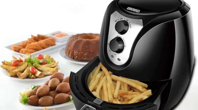 Best Air Fryer – Emerald 3.2-Liter Air Fryer Only $29.99 on Best Buy (Regularly $80)