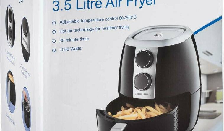 Best Air Fryer – Mistral 3.5L Air Fryer $49 @ Woolworths