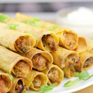 Best Air Fryer – Air Fryer Pulled Pork Taquitos