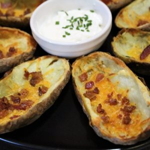 Best Air Fryer – Loaded Air Fryer Potato Skins