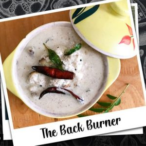 Rice Cooker Recipes The Back Burner: Vazhakka pachadi or Malayali raw plantain raita