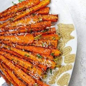 Best Air Fryer – Air Fryer Carrots with Parmesan
