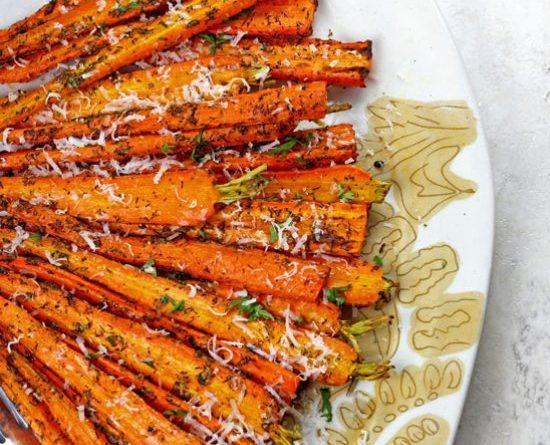 Best Air Fryer – Air Fryer Carrots with Parmesan