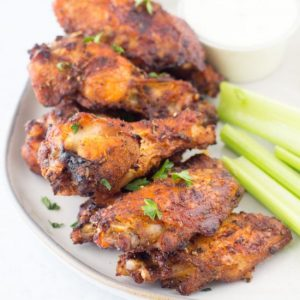 Best Air Fryer – Sweet & Spicy Dry Rub Wings