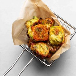 Best Air Fryer – Keto Cheesy Broccoli Tots