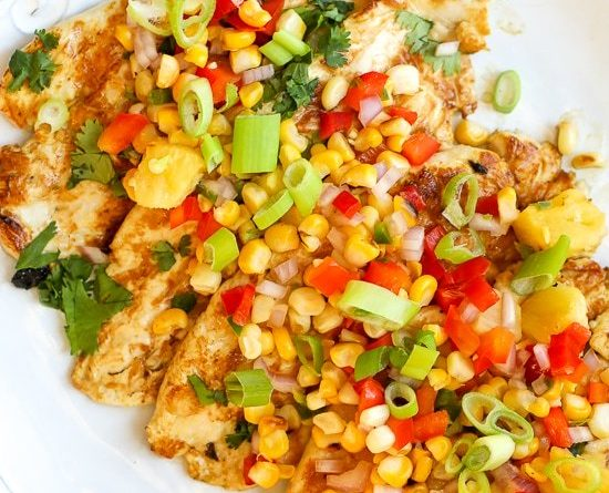 Rice Cooker Recipes Zesty Lime Grilled Chicken with Pineapple Salsa