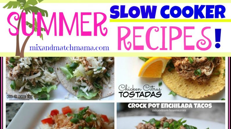 Zojirushi NS-ZCC10 Rice Cooker Summer Slow Cooker Recipes!