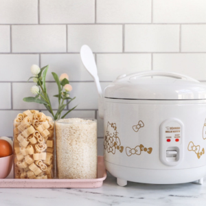 Zojirushi NS-ZCC10 Rice Cooker These Hello Kitty Appliances Are the Kitchen Inspiration You Didn't Know You Needed
