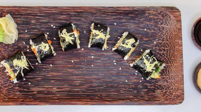 Rice Cooker Recipes Paleo Cauliflower Rice Sushi Rolls