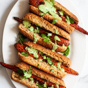 Rice Cooker Recipes Smoky Glazed Carrot Dogs