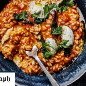 Rice Cooker Recipes Tomato risotto recipe