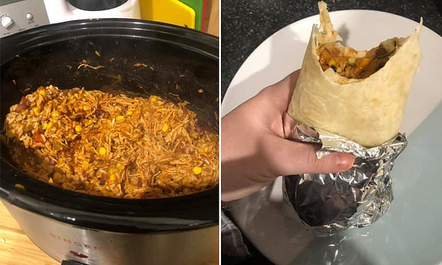 Zojirushi NS-ZCC10 Rice Cooker Mum shares her VERY simple slow cooked burrito