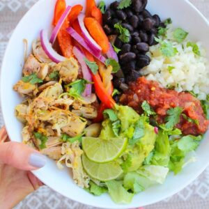 Rice Cooker Recipes Jackfruit Carnitas Burrito Bowl
