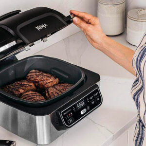 Best Air Fryer – Ninja Foodi Pro 5-in-1 Indoor Grill & Air Fryer w/ Instant Read Thermometer Only $159.99 Shipped on Amazon (Regularly $270)