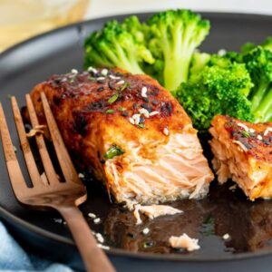 Best Air Fryer – Hoisin Glazed Air Fryer Salmon