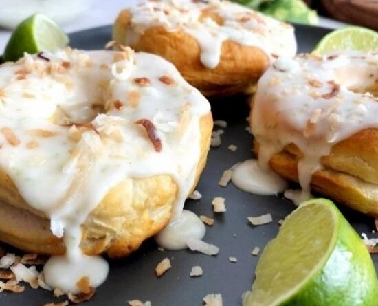 Best Air Fryer – Air Fryer Coconut Lime Donuts