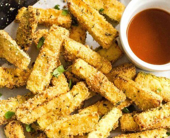 Best Air Fryer – Crispy Air Fryer Zucchini Fries