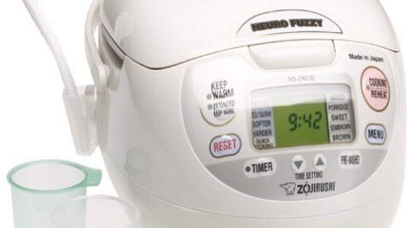 Zojirushi NS-ZCC10 Neuro Fluffy Rice Cooker
