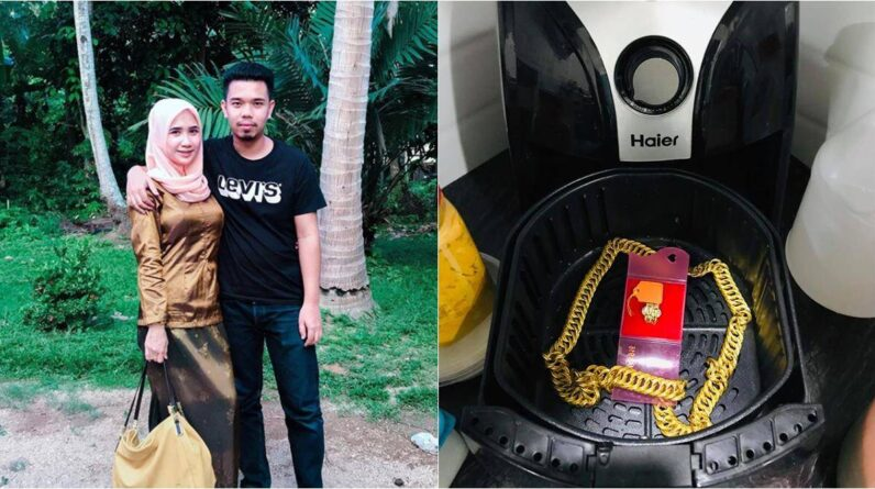 Best Air Fryer – Man conceals surprise gift inside air fryer, his wife doesn't use it for months