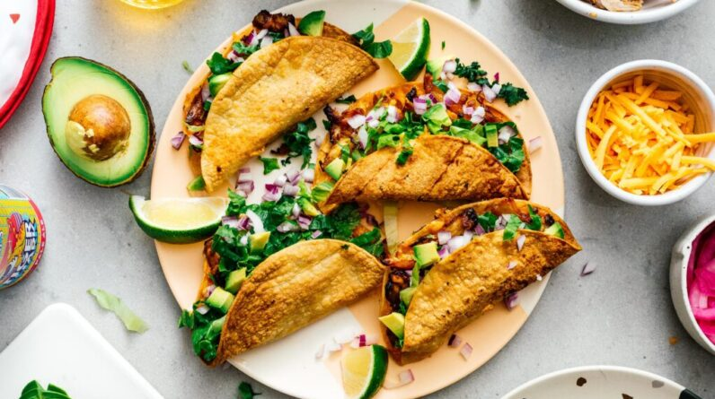 Best Air Fryer – Air Fryer Chicken Tacos