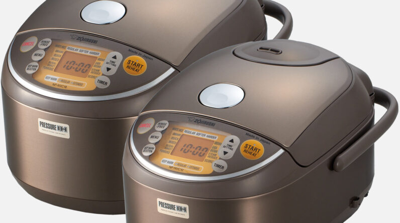 Zojirushi Induction Heating Pressure Rice Cooker & Warmer NP-NVC10/18